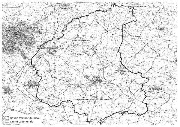 thumbnail of carte bassin versant de Ribou