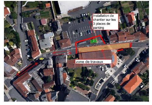 travaux rue du Commerce phase 1