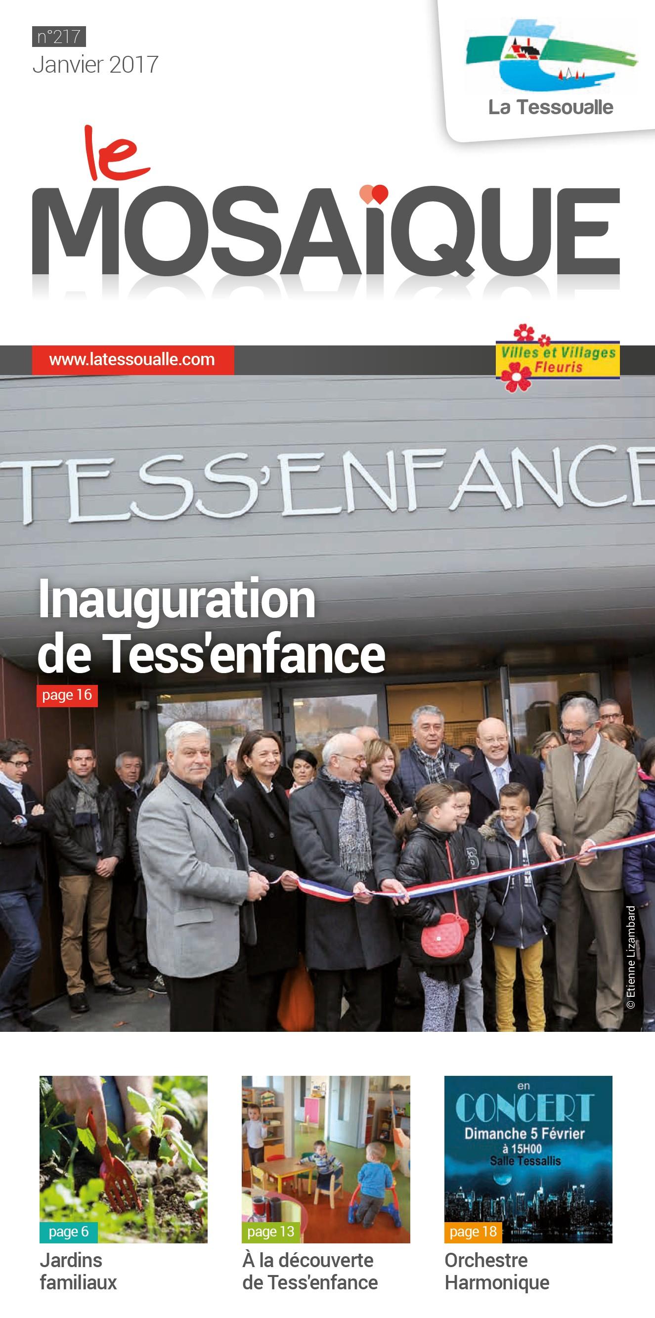 mosaïque janvier 2017 page de garde