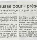 REVUE DE PRESSE 26012016