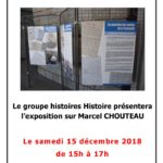 thumbnail of EXPOSITION marcel CHOUTEAU