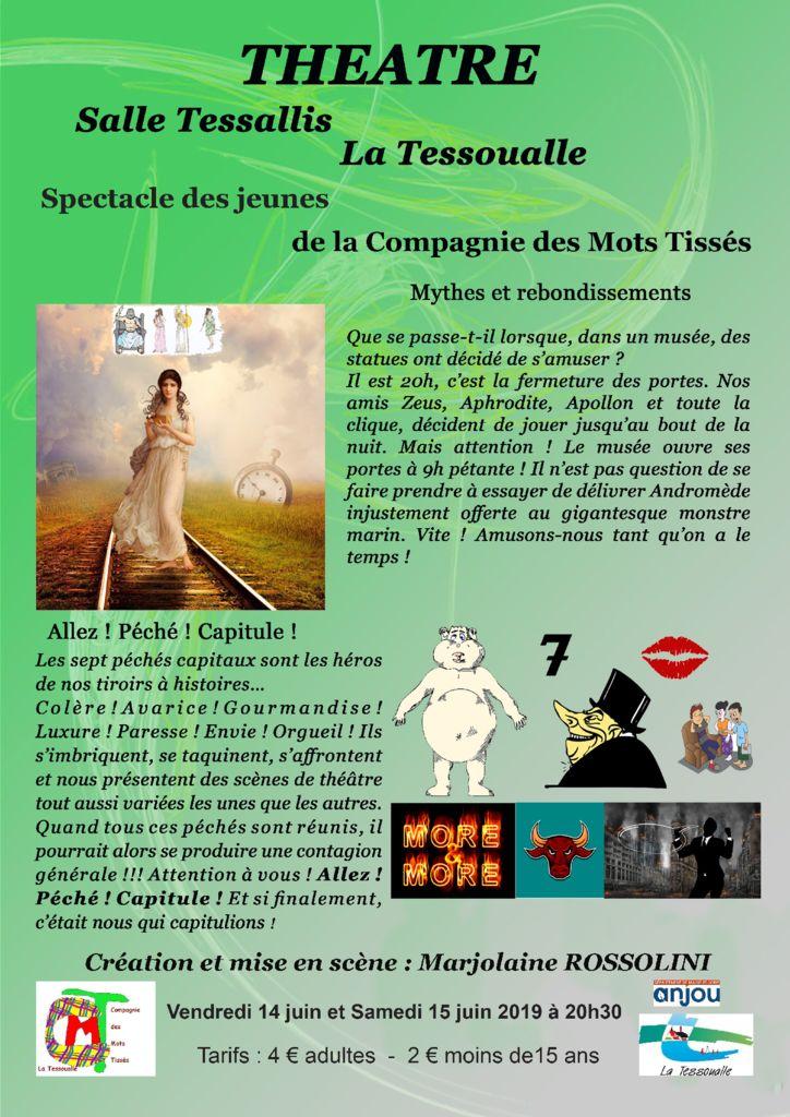 thumbnail of Affiche Cie des Mots Tissés – Représentations jeunes