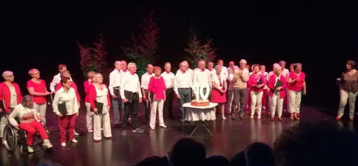 Un très beau concert de Canta'Tess