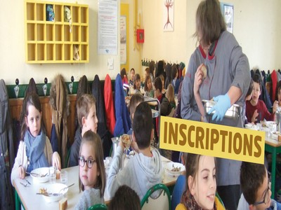 Inscriptions au restaurant scolaire