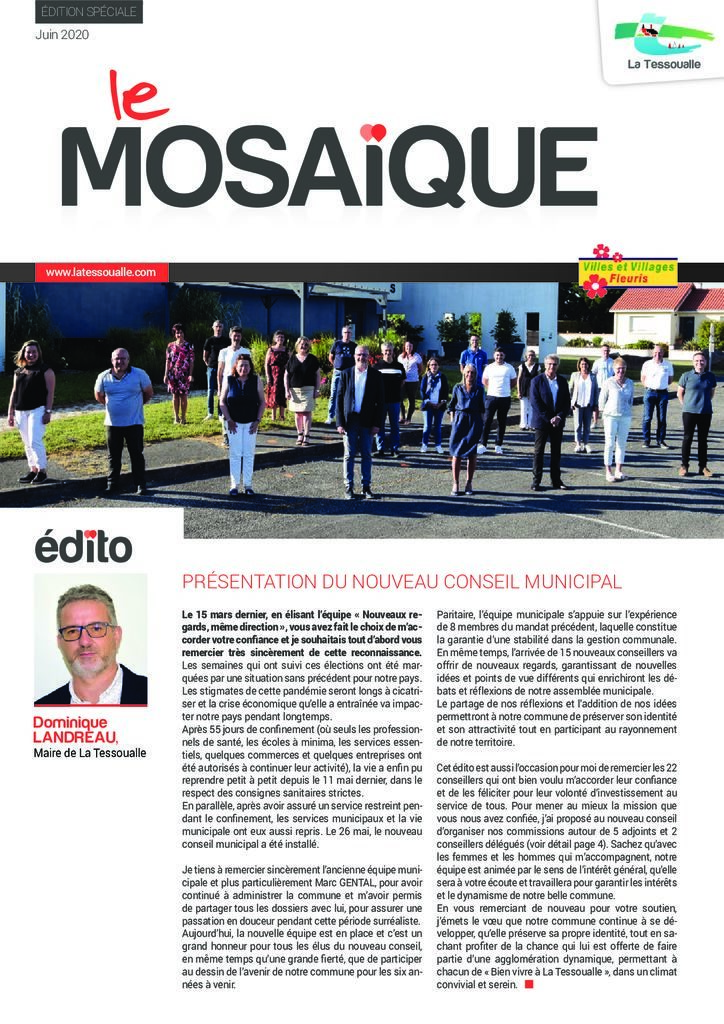 thumbnail of Mosaique Edition spéciale juin 2020
