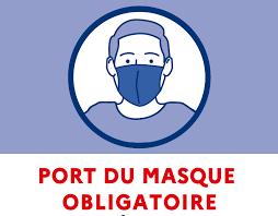 Port du masque obligatoire sur l'ensemble du département de Maine-et-Loire