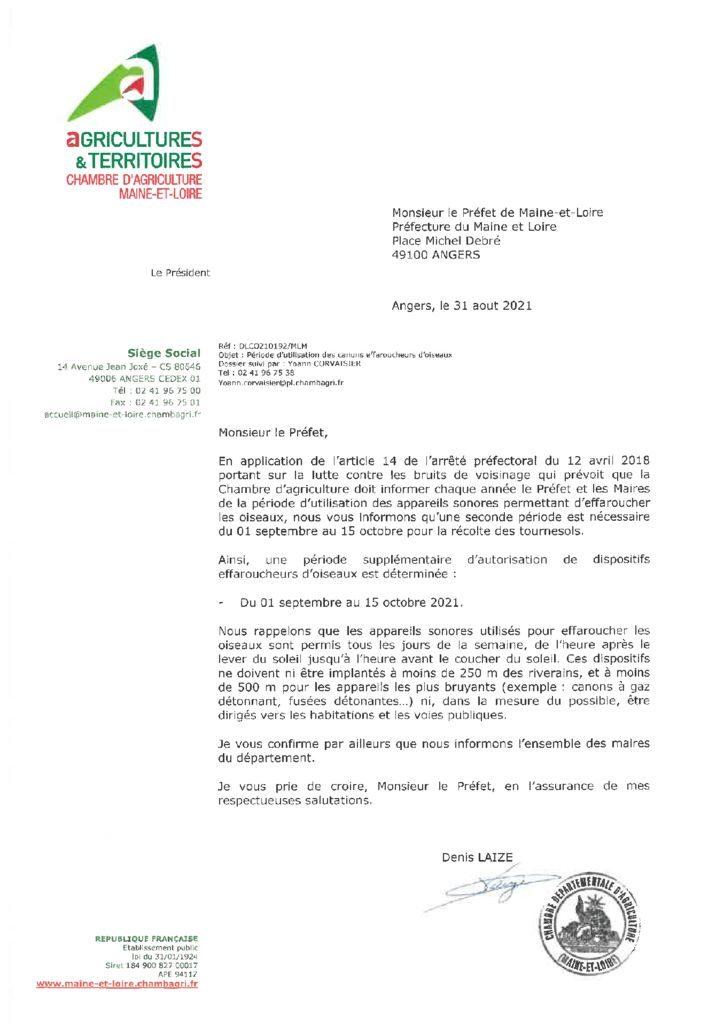 thumbnail of DLCO210192 – Préfecture -Utilisation canons effaroucheurs d'oiseaux