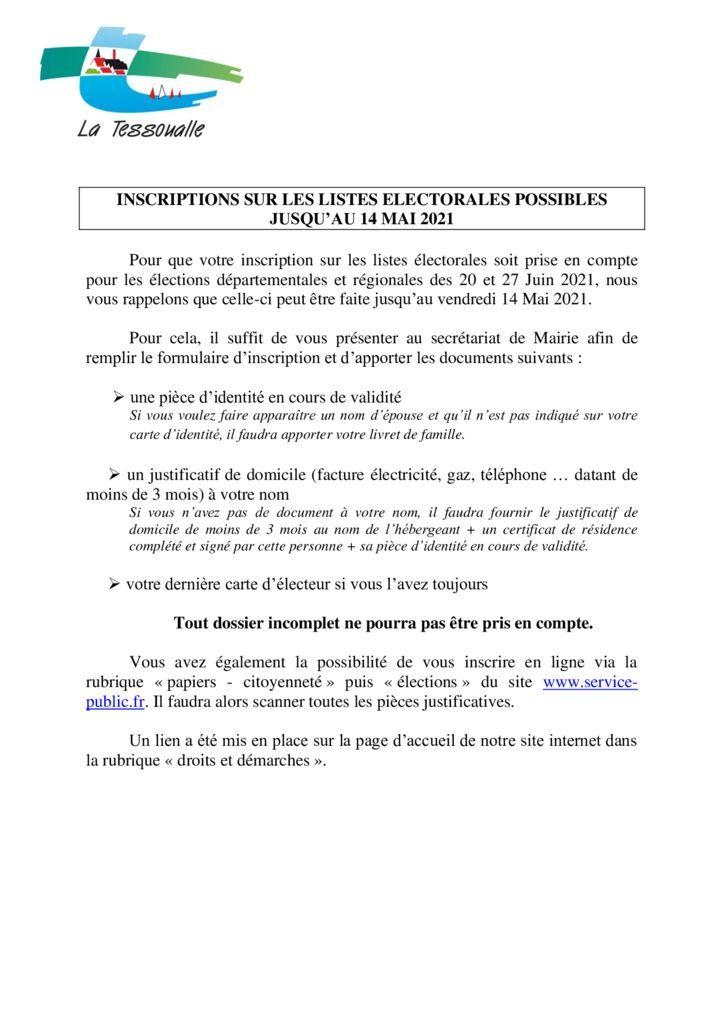 thumbnail of Article élections Départementales et Régionales 2021